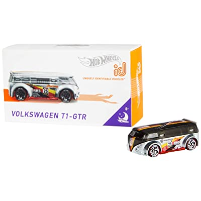 Hot Wheels id Volkswagen T1-R {Night Burners}: Toys & Games
