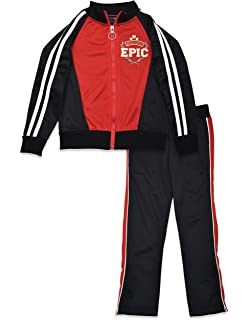 Dreamstar 2PC Tricot Training Tracksuit Pants and Top for Girls Kids Teens
