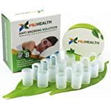 P & J Health - Anti Snoring Solution, , advanced Nose Vents To Ease Breathing and Snoring(Set of 8)