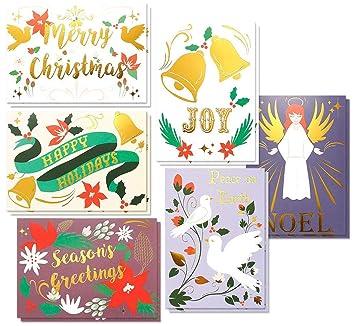 48 pack merry christmas greeting cards bulk box set winter holiday 48 pack merry christmas greeting cards bulk box set winter holiday xmas greeting cards m4hsunfo