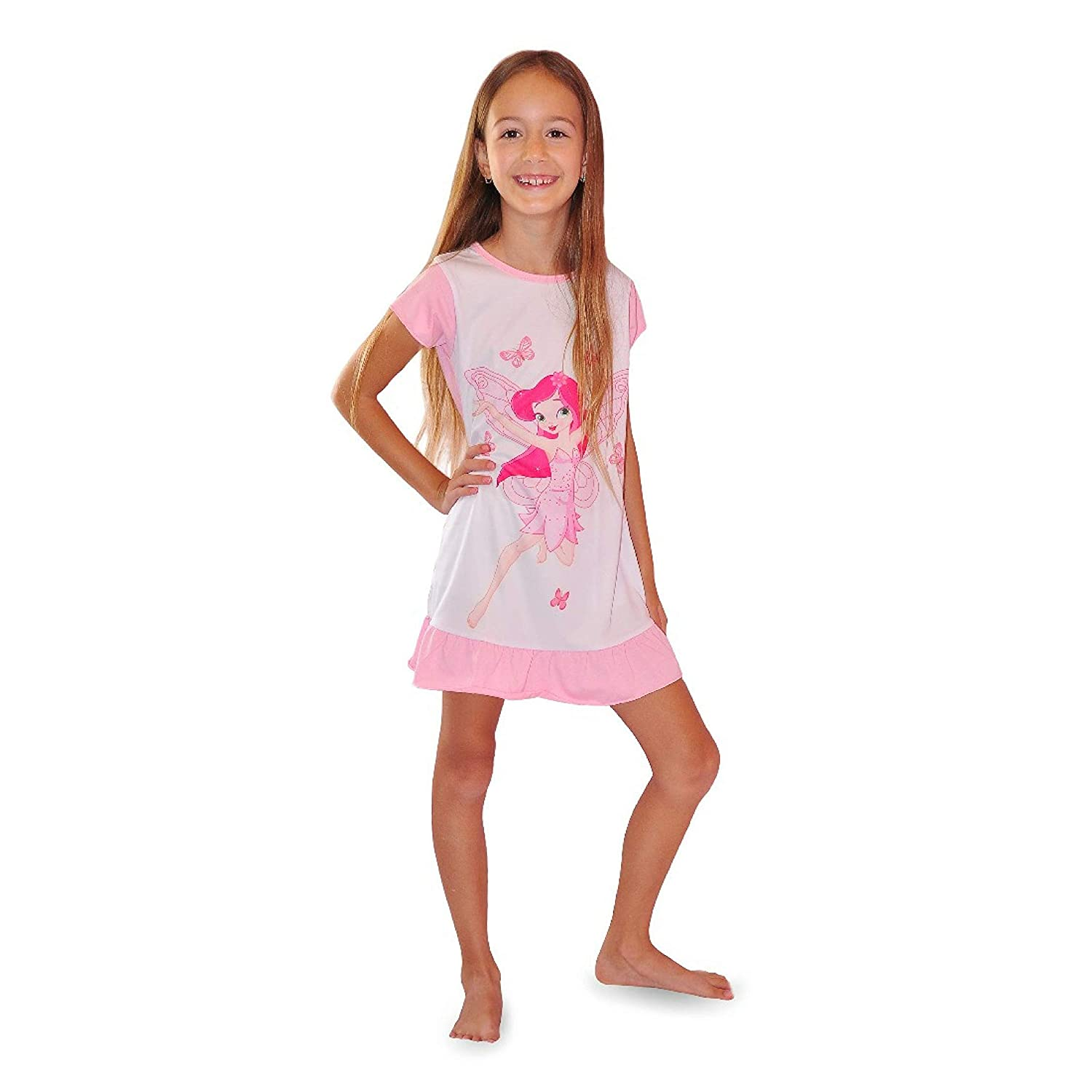 Amazon.com  Fairy Nightgown Cotton Sleepwear Pajamas - Unique Gift Set for  Girls Ages 4-8  Clothing 51bbc756f