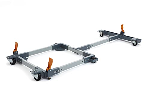 Bora Portamate PM-3750 Mobile Base T Extension Combo For Cabinet Table Saws Withup To 50 Extension Tables