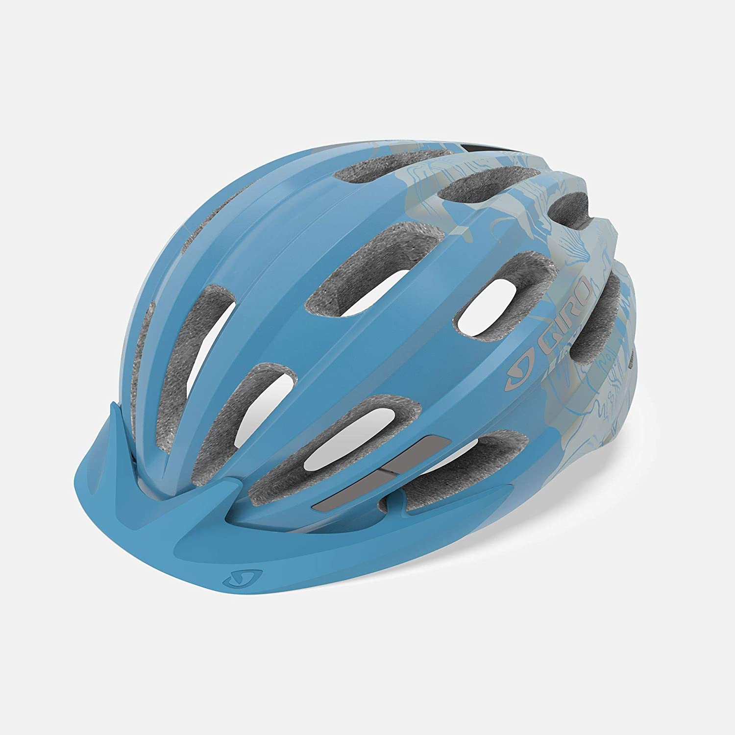 Giro Vasona MIPS Womens Recreational Cycling Helmet - Universal Women's (50-57 cm), Ice Blue Floral (2020)