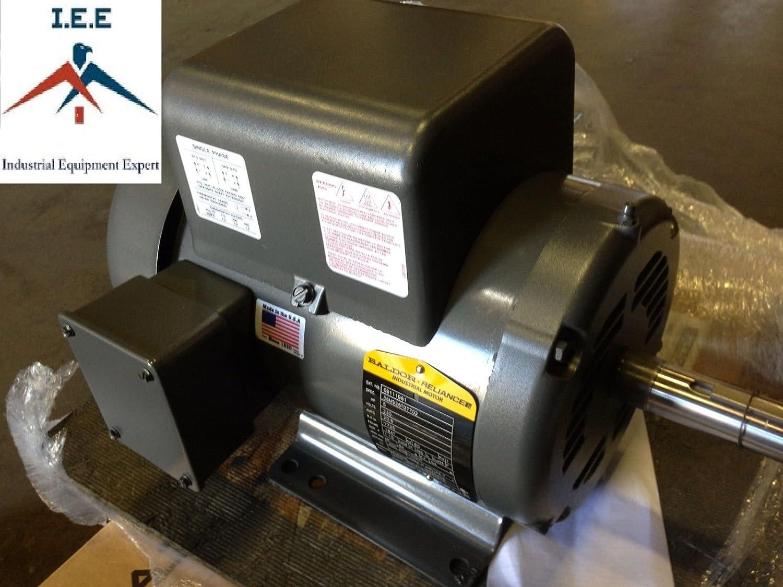 5 Hp 3450 Rpm 1 Phase Industrial Baldor Electric Motor 184t Frame 3 2 Wiring Diagram L1409t 230 V
