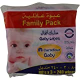 M Carrefour Baby Wipes Set of 3