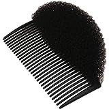 MagiDeal Bumpits de Cheveux Epingle à Chignons pour Coiffure Bouffant Mousse Noir