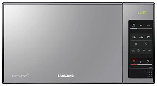 Samsung ME83X/XEC - Microondas sin grill, 800 W, 23 litros ...