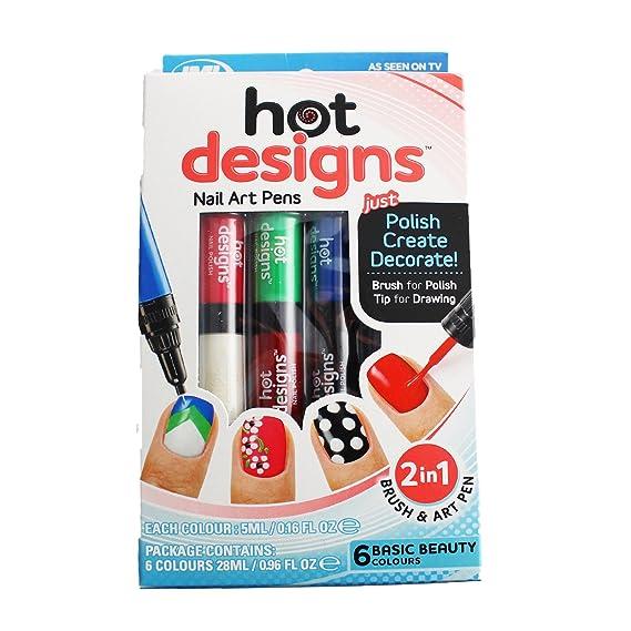 Nail Art Polish Set Decoration Varnish Tips Pen JML Hot Designs ...