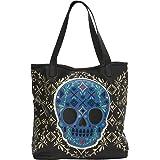 Loungefly Blue Sugar Skull Tote Bag