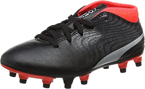 PUMA One 18.4 FG Jr, Chaussures de Football Mixte Enfant