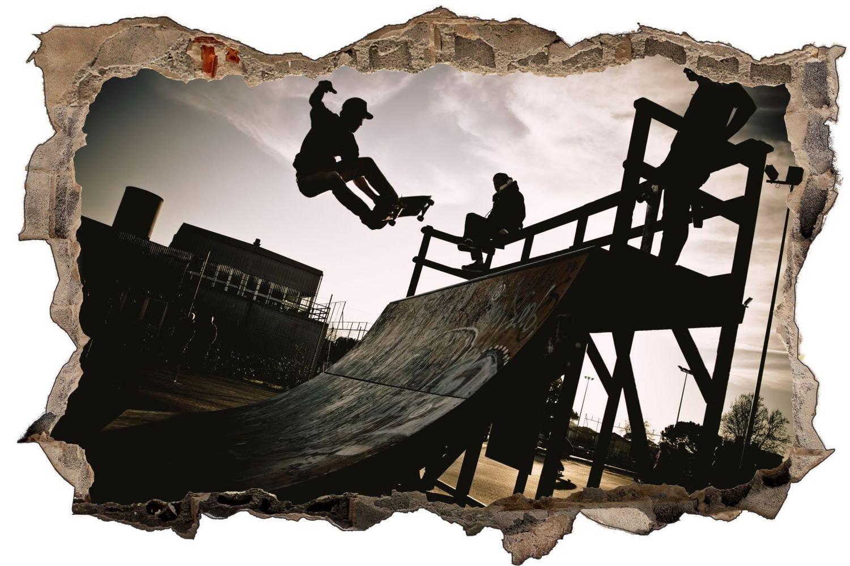 Skater Skateboard Wandtattoo Wandsticker Wandaufkleber D0910 Größe 120 cm x 180 cm