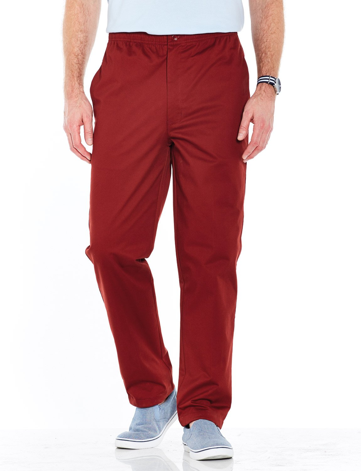 Mens Cotton Elasticated Rugby Trousers with Drawcord Chums