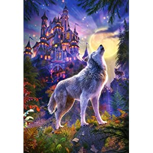 Lisa Parker Guidance 1000 Piece Jigsaw from Nemesis Now Wolf Design