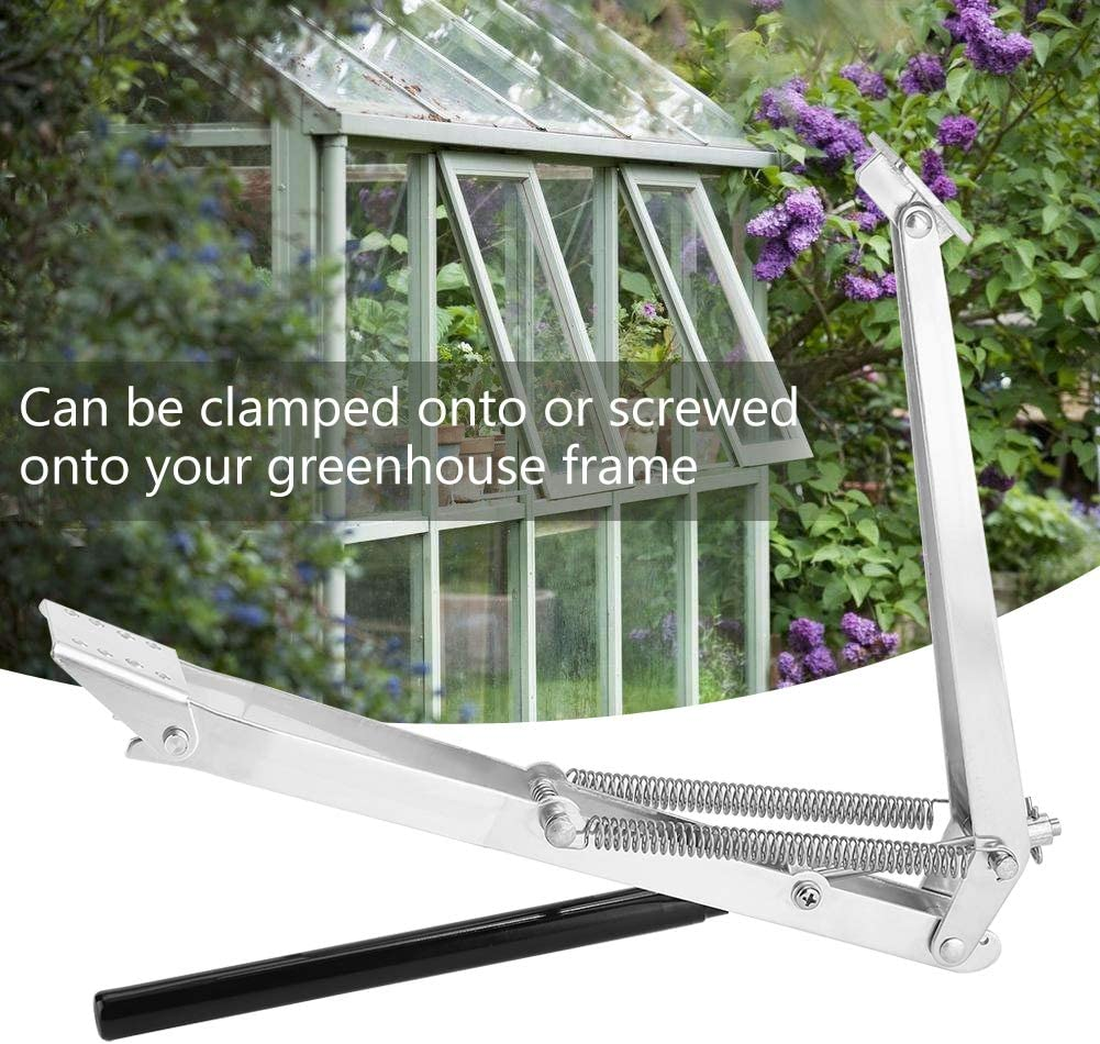Automatic Double Spring Greenhouse Window Opener Solar Heat Sensitive Auto Thermo for Window Open Greenhouse Vent Autovent Window Opener AYNEFY Greenhouse Window Opener