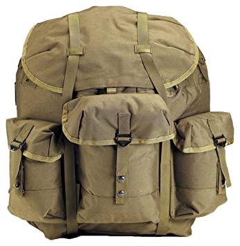 rothco enhanced nylon large alice pack wframe olive drab size