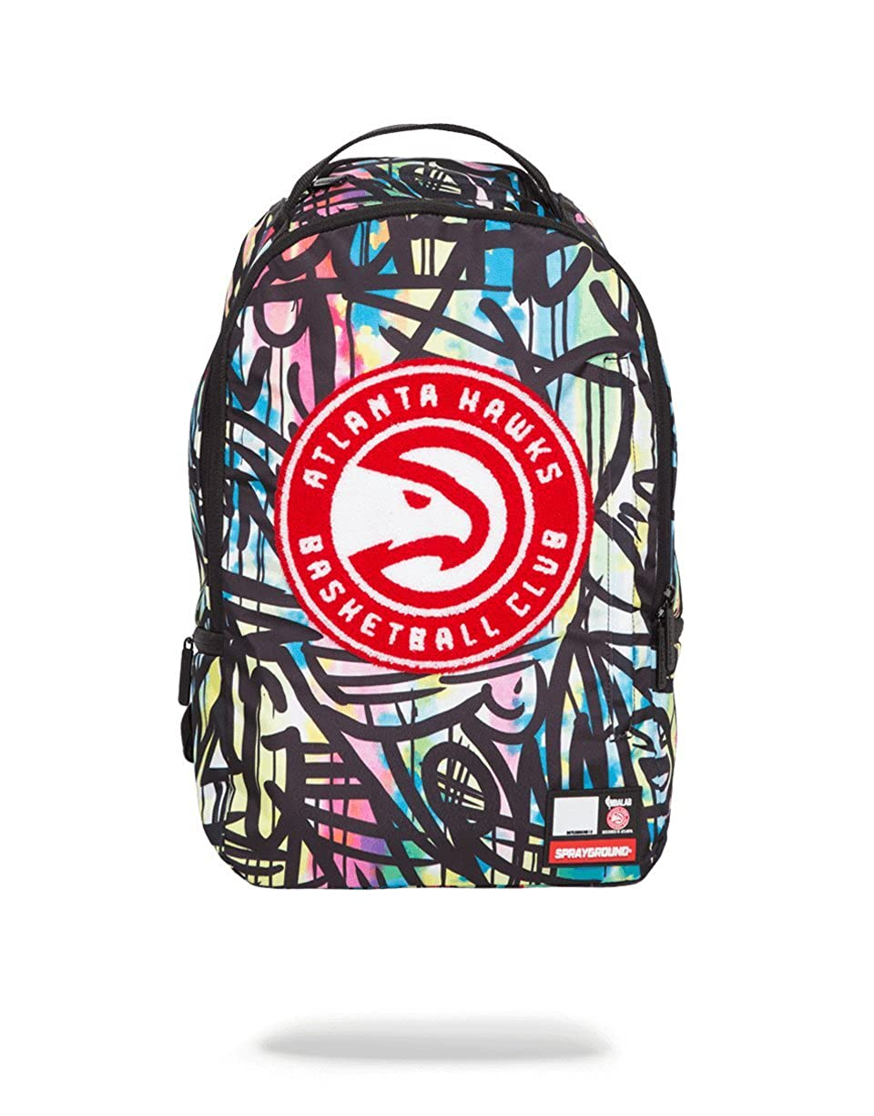 de69849deae Amazon.com  NBA LAB X Sprayground Brooklyn Nets Bridge Backpack  Amazing  Attire
