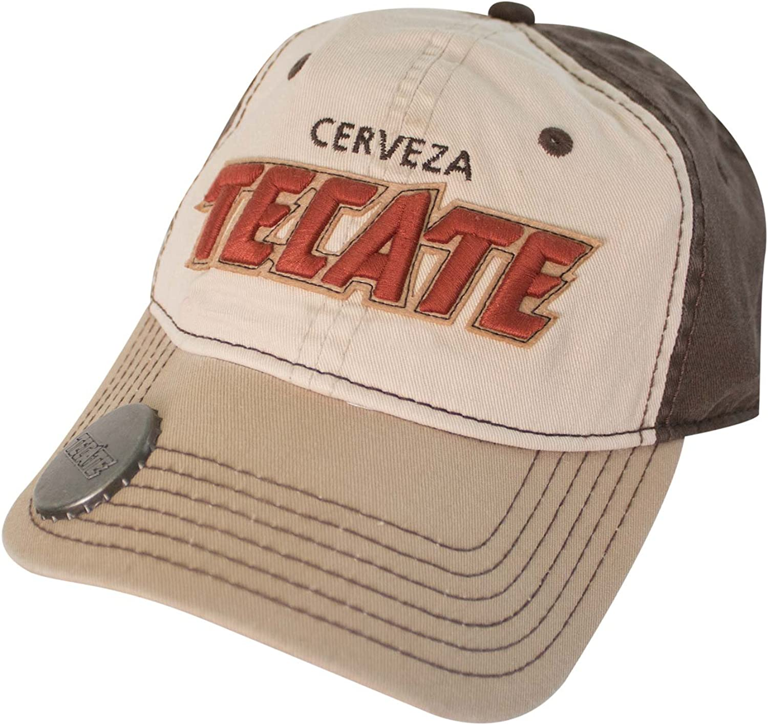 Tecate Bottle Opener Hat