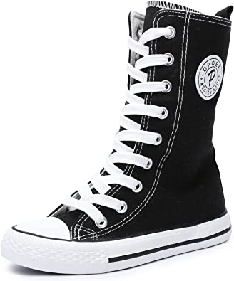 Top Canvas Shoes Sneakers Kids Lace