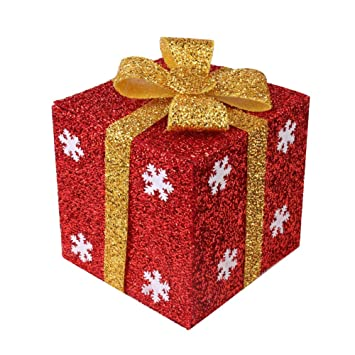 christmas gift boxesmingshop snowflake pattern folding boxes with random color ties for christmas birthday