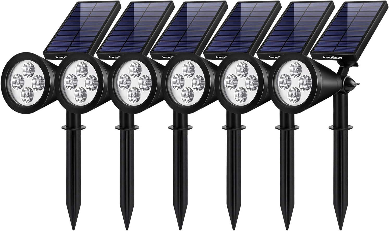 InnoGear Solar Lights Outdoor, Upgraded …