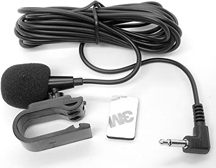 3.5mm Microphone External Assembly for Car bluetooth enabled audio stereo system