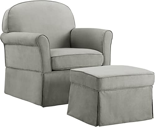 Baby Relax Swivel Glider Chair and Ottoman Set