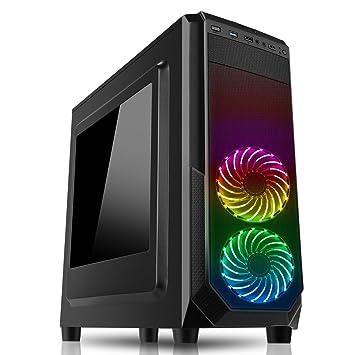Ultra rápido Quad Core Gaming PC Ordenador de sobremesa/RGB/caso Intel Core i5