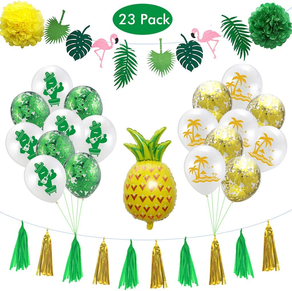 Inflatable Pineapple Fruit Hawaiian Summer Party Accessory