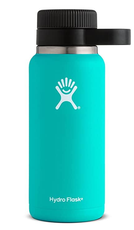 9f1f02b56f Amazon.com: Hydro Flask 32 oz Beer Growler | Stainless Steel & Vacuum  Insulated | Easy-Carry Handle | Mint: Home & Kitchen
