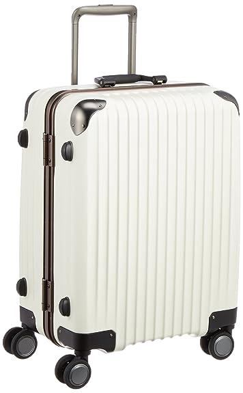 ce14eee97b Amazon   [カーゴ] スーツケース ハードキャリー フレーム TW64 52L 4.2kg 双輪消音キャスター TSAロータリーロック 保証付  58 cm アイボリー   CARGO(カーゴ) ...