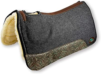 Southwestern Equine OrthoRide All Purpose Trail Rider Fleece Bottom Saddle Pad