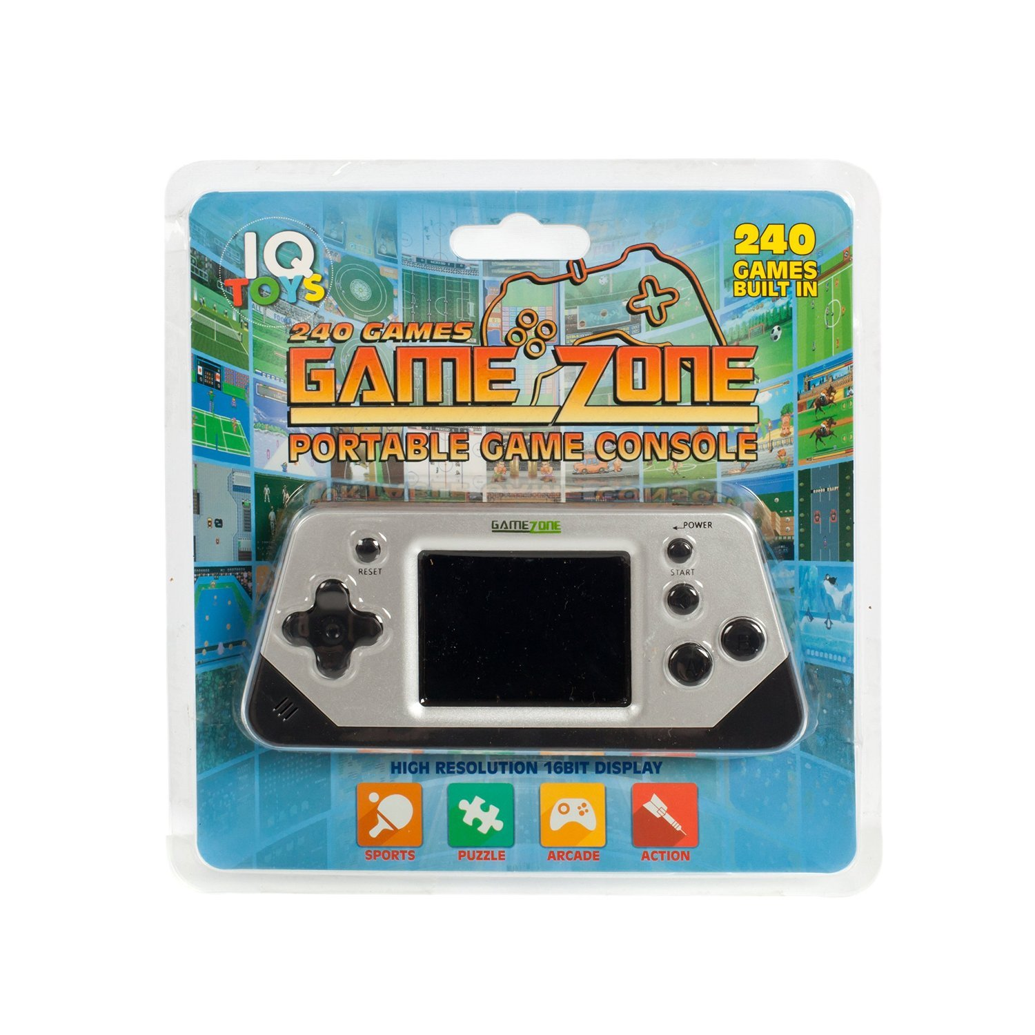 Game Zone Games portable game console Image 1