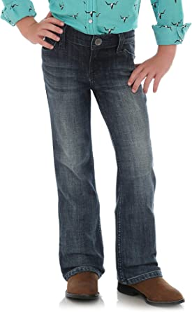 Wrangler Girls Western Stretch Boot Cut Jeans Jeans