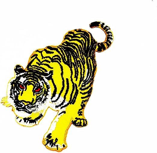 Head Bengal Tiger - Parche bordado a mano, diseño de gato grande ...
