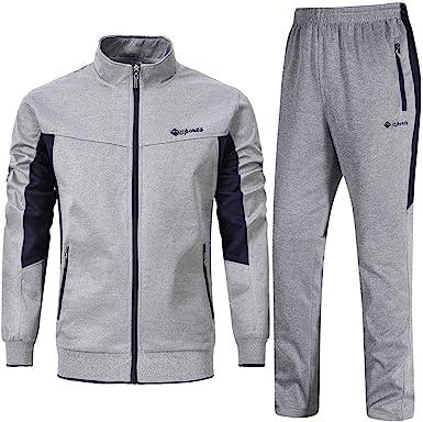 YSENTO Chándal Completo para Hombre, Pantalones de Jogging ...