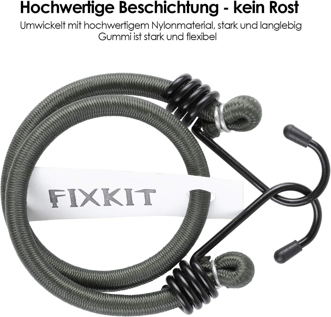 FIXKIT Tensor de equipaje con ganchos para motocicletas, coches, camping al aire libre: Amazon.es: Coche y moto
