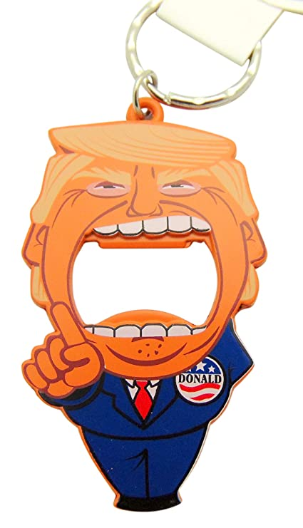 Amazon.com: Get a Gadget Donald Trump Big Bite - Llavero con ...