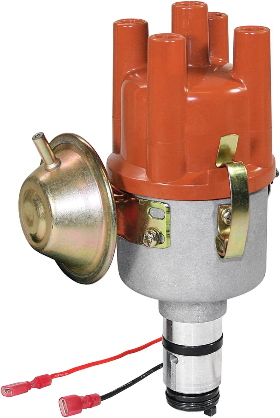 Kuhltek Motorwerks 0231170034EL Vacuum Advance Distributor with Electronic Ignition for VW Beetle
