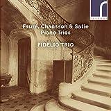 Faure/Chausson: Piano Trios [Fidelio Trio] [Resonus Classics: RES10232]
