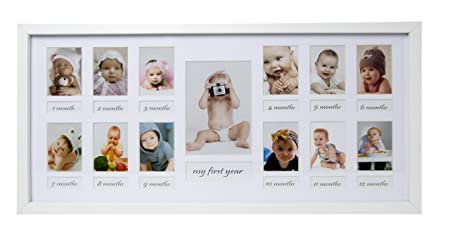 Bd Art My First Year Baby Photo Frame 23 X 50 Cm Picture Photo Frame