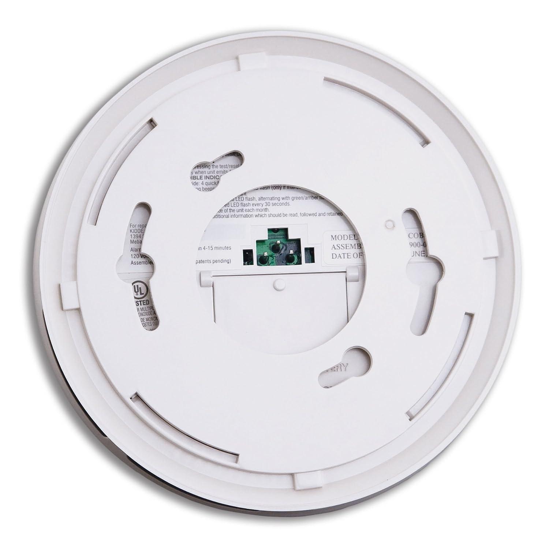 Kidde Hardwire Carbon Monoxide Detector Alarm with Battery Backup, Interconnectable Model KN-COB-IC