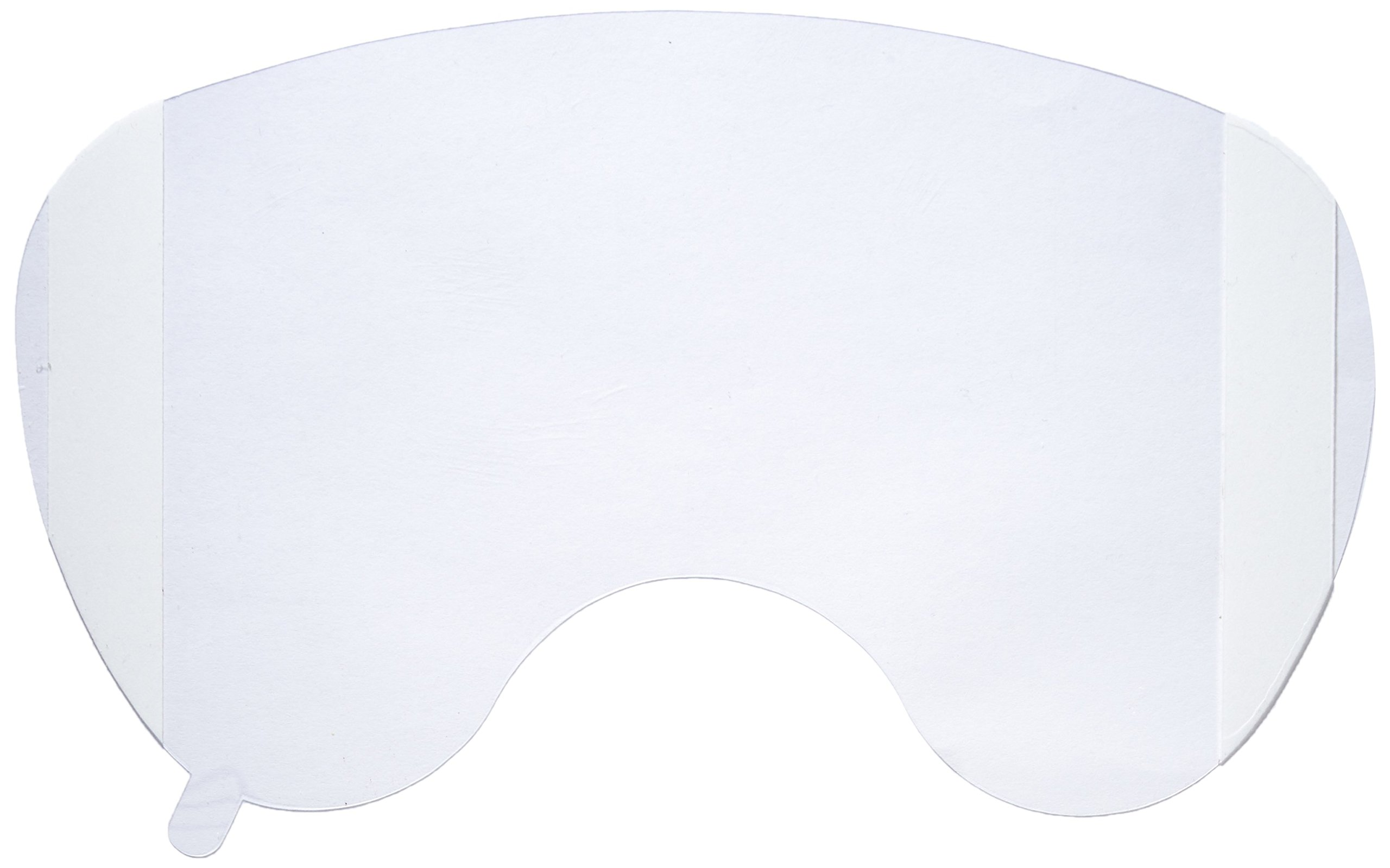 MSA 491500 Cover Lens for Ultra Elite Full Facepiece Respirator, Clear (Pack of 25)