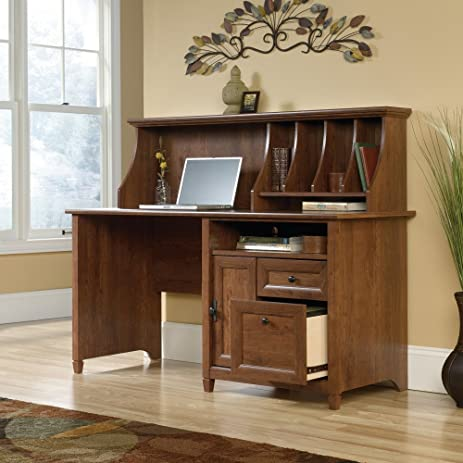 shipping l antigua x in hutch free espresso cabot desk computer cool id with shaped today oak dmi cherry best