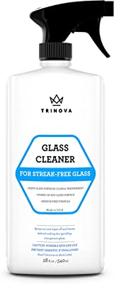 TriNova Streak Free Glass Cleaner