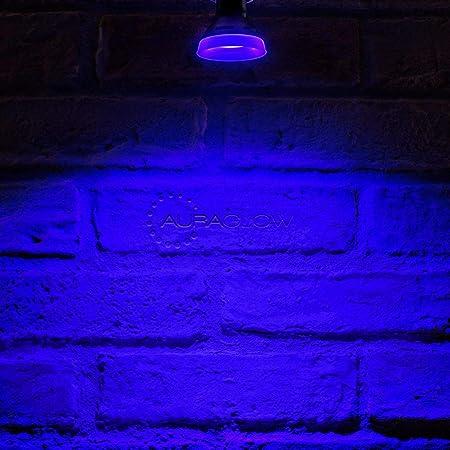 Auraglow LED-Leuchtmittel, schmal, GU10, Blau
