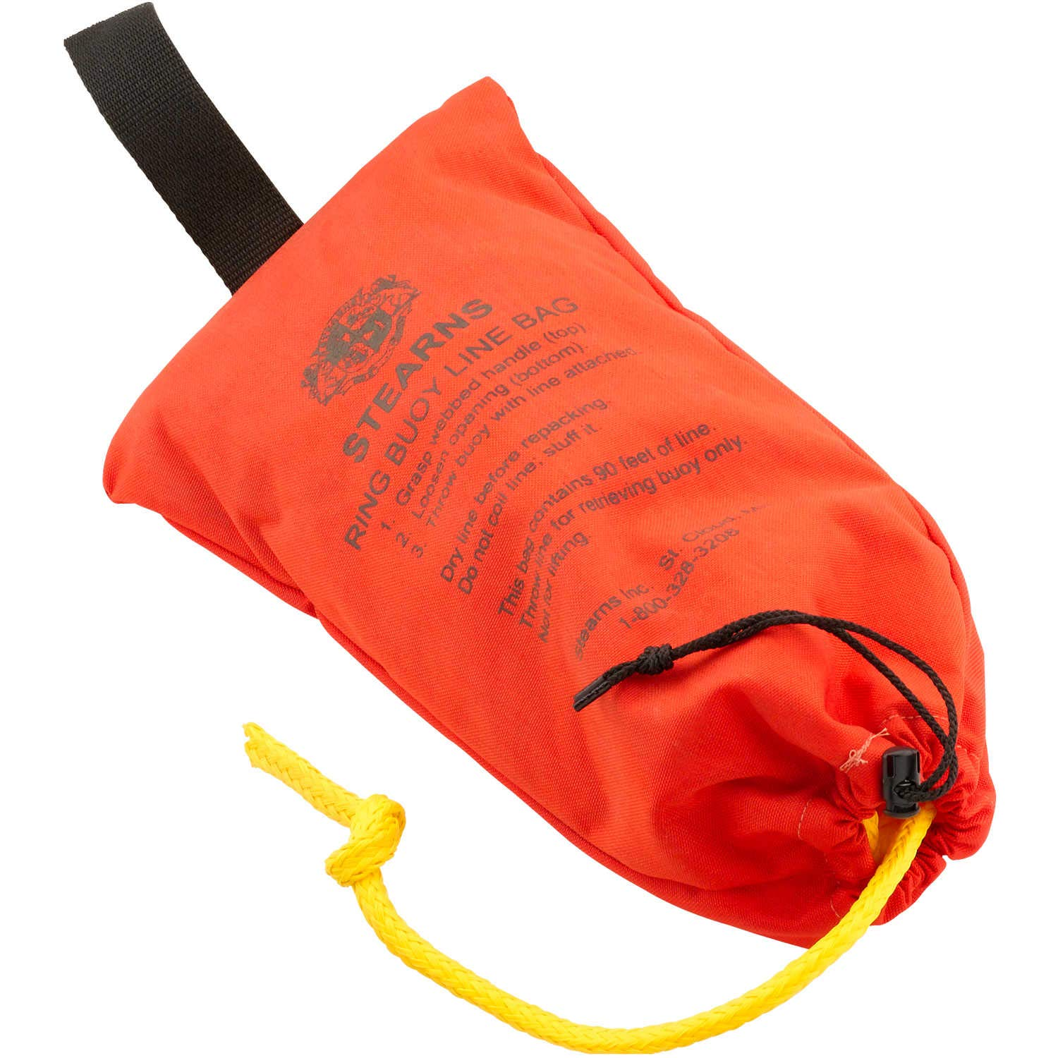 Stearns 90' Buoy Rope with Bag Orange