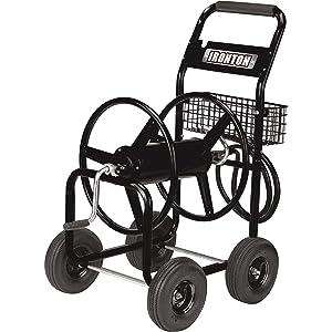 Ironton Garden Hose Reel Cart