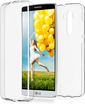 MoEx Funda Protectora 360º de Silicona Compatible con LG G3 ...