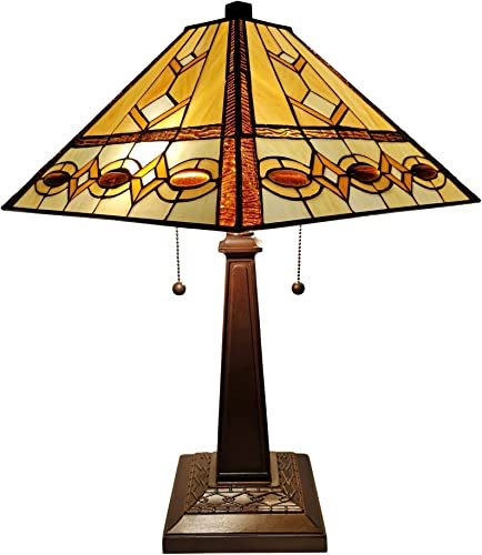 Amora Lighting AM310TL14B Table Lamp, Multicolor