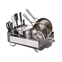 KitchenAid Full Size Dish Rack, Light Grey Deals